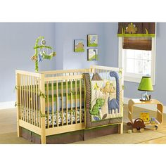 Adorable Dino Set Dinosaur Crib Bedding Bedroom Nursery Sets