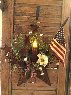 Rusty Star Pocket | from Gatherings at Muncy Creek Barn Works
