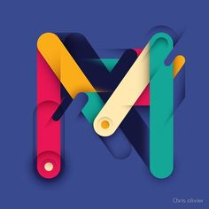 m letter design M Letter Design, Carta Logo, Logo Minimalista, Canvas Wall Art, Canvas Prints, Material Design, Logo Nasa, Lettering Design, Ipad Case