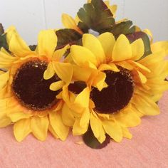 Spotted while shopping on Poshmark: Sunflower Headband 🌻! #poshmark #fashion #shopping #style #Accessories