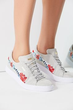 d2f56dde9007 Puma Basket Heart Hyper Embroidered Sneaker