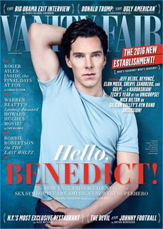 Benedict Cumberbatch covers the November 2016 issue of Vanity Fair.