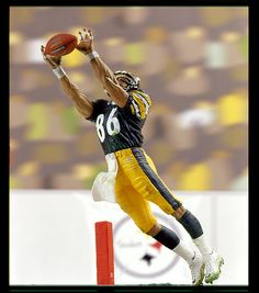Hines Ward of the Pittsburg Steelers
