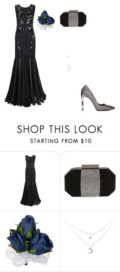 """Homecoming queen"" by creepyemogirl2003 ❤ liked on Polyvore featuring Whiting & Davis"