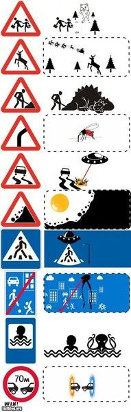 Road Signs Revealed: The Truth Is Out There