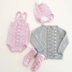 Løvstrikk #høstløvromper #høstløvlue #høstløvjakke #høstløvsokker #knitsandpieces #strikkmeg #SandnesGarn #sandnesmerino #dropsmerinoextrafine #pink #grey