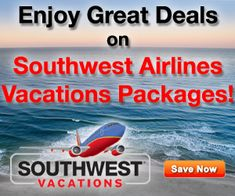 Great deals on Southwest Vacations packages!