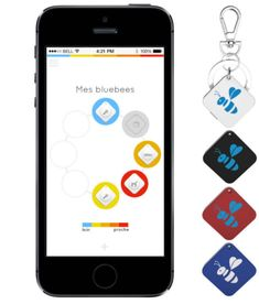 BLUEBEE is a tracker that helps you to find your lost objects.