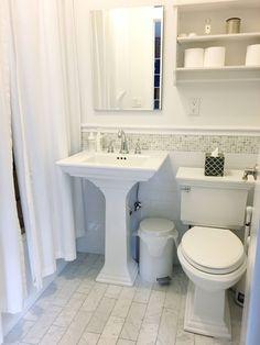 bathroom like a Manhattan yoga studio NYC: Five Pillars Yoga