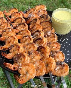 Shrimp Recipes, Fish Recipes, Appetizer Recipes, Picnic Recipes, Picnic Ideas, Picnic Foods, Cuisines Diy, Summer Grilling Recipes, Fire Cooking