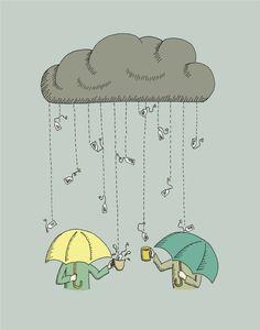 It's raining tea @La Procedencia #GrandesProductosPequeñosProductores
