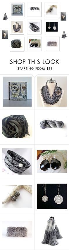 """""""Grey Gifts"""" by keepsakedesignbycmm ❤ liked on Polyvore featuring Home, jewelry and accessories"""