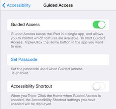 How to Lock Down an iPad with Guided Access