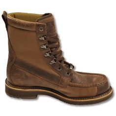 """Browning Men's 8"""" Waterproof Featherweight Moc Toe - Men's Hunting Boots - Boots - FOOTWEAR  www.kevinscatalog.com"""