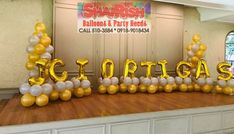 JCI Ortigas at Valle Verde 2 Clubhouse Company Anniversary, Letter Balloons, Lettering, Party, Drawing Letters, Parties, Brush Lettering