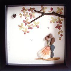 13 Best Unique Handmade Wedding Gifts Images Pebble Art Rocks