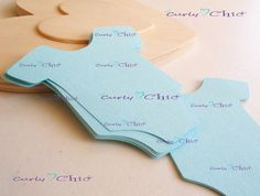 27 Baby Onesie Tags Size 4 In Non-textured or by CurlynChic