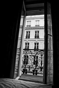 Paris window.