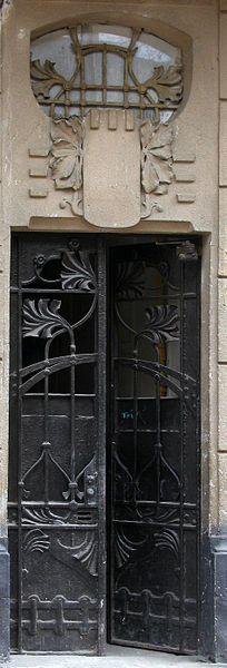 Lviv, Ukranie Love the window above the door gate. Beautiful