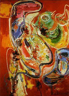 Hans Hofmann - Bacchanale