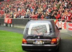 A funeral ceremony is being held for the legendary Portuguese footballer Eusebio at the Benfica's Luz stadium on January 6, 2014 in in Lisbon, Portugal.