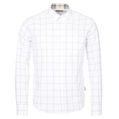 Barbour Halton Shirt - Sure to become a true wardrobe staple, the Halton is a new addition to Barbour's Tartan collection.