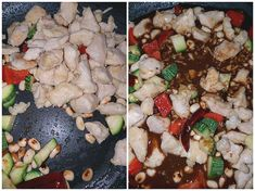 Steps to make Kung Pao Chicken Kung Pao Chicken Recipe Easy, Chicken Recipes Juicy, Chinese Chicken Recipes, Easy Chinese Recipes, Spicy Recipes, Wine Recipes, Asian Recipes, Japanese Recipes