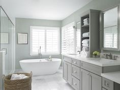gray shaker style cabinets - Google Search