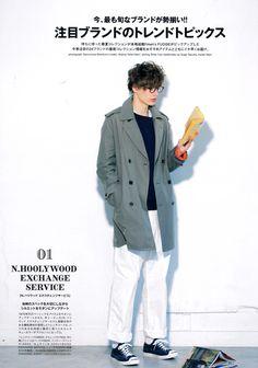 Male Model Otaku: Marc Schulze: men's FUDGE April 2014 [4]