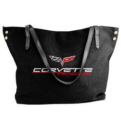 Corvette Racing Women's Handbags Ladies Canvas Shoulder Bag Fashion Totes Messenger Bags -- Check this awesome image