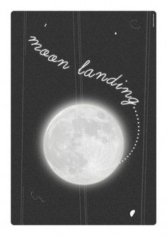Moon Landing, Poster, Inspirational Art Print, from Inspire Me Print