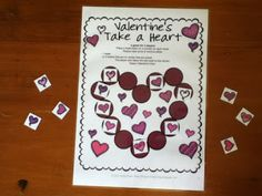 FREEBIES - Valentine's Day Board Games - just print and play!