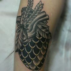 Tattoo by Justin Dion at Anatomy tattoo in Portland Oregon. www