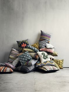 Bolia.com Pillows. We love the colors and how unique they are!