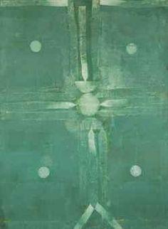 Vasudeo S. Gaitonde (1924-2001), Untitled, 1998. Oil on canvas. 139.7cm H x 101.6cm W.