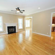 Red Oak Flooring Design Ideas, Pictures, Remodel, and Decor - Red Oak Floor with Natural Stain