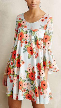 Poppy Swing Dress