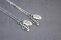 Hey, I found this really awesome Etsy listing at https://www.etsy.com/listing/190731138/music-friendship-necklaces-best-friends