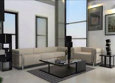 Minimalist and modern interior