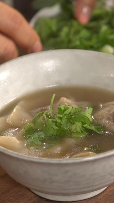 Recipe with video instructions: better than takeout. ingredients: for the soup:, 2 cups chicken stock, 2 cups water, 1 teaspoon soy sauce, Soup Recipes, Chicken Recipes, Cooking Recipes, Wonton Recipes, Cucumber Recipes, Casserole Recipes, Healthy Snacks, Healthy Eating, Healthy Recipes