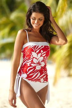 Who says modest swimsuits have to be ugly?! This is gorgeous!! @Christina Childress & Fluckiger - I am going to buy this next summer, for sure.