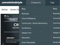 Shot_1278437574 Mega Menu, Design Firms, Social Networks, Education, Blog, Blogging, Social Media, Onderwijs, Learning