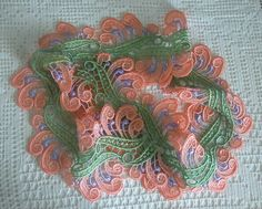Hey, I found this really awesome Etsy listing at https://www.etsy.com/listing/473388141/hand-dyed-lace-wide-scroll-design-venise