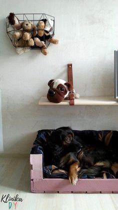 Legowiska dla psa ze skrzynki - instrukcja Klinika DIY