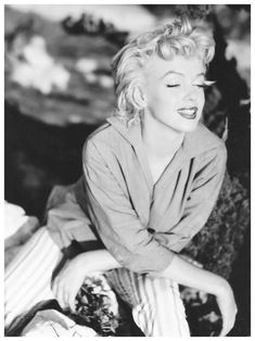 1954: Marilyn photographed by Ted Baron in Palm Springs, California.