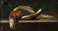 """Designação: """"Natureza morta - Peixe e bacia de cobre"""""""