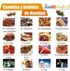 En #Navidad se come y bebe mucho, pero ¿conoces las comidas típicas de estas fechas en #España? ¡Añade más a la lista!