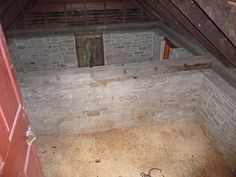 Grant National Historical Site - Ice House interior