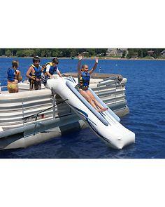 <3 BE ACTIVE - Pontoon Boat! ♥ RAVE Sports Pontoon Slide