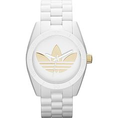#AdidasOriginalsWatches, #FashionAccessories, #Watches - adidas originals Watches Originals Santiago White and Gold - adidas originals Watches Watches